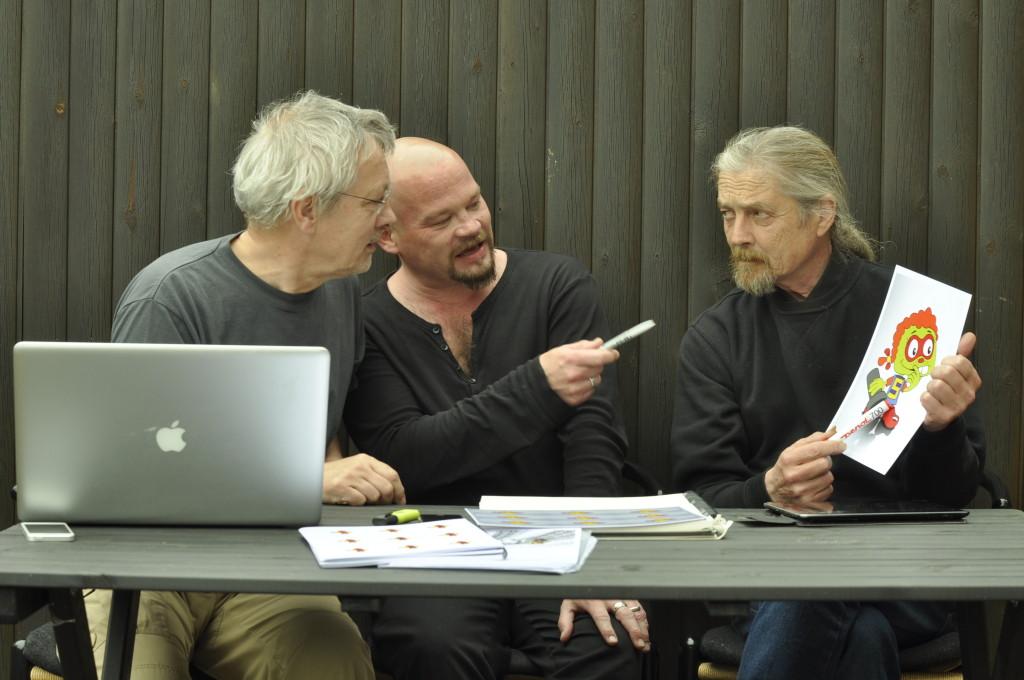 Zippelip team Viggo Steincke, Janus Nørgaard, John Nørgaard